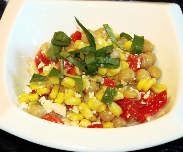 Mediterranean Corn Salad. Photo by Boomette