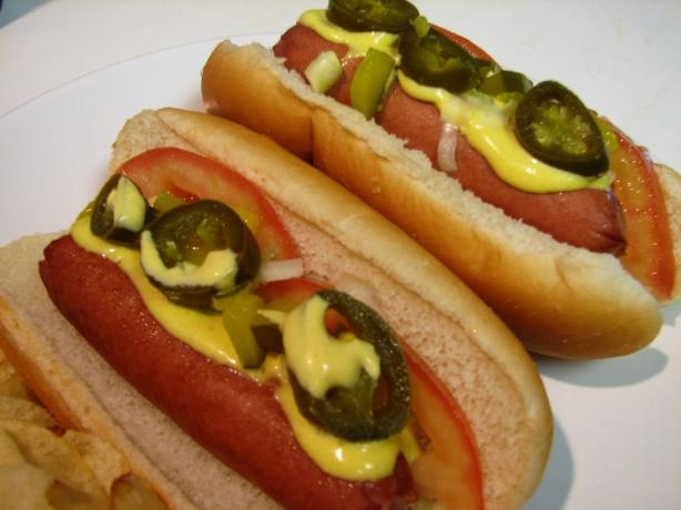 Chicago-Style Hot Dogs. Photo by loof