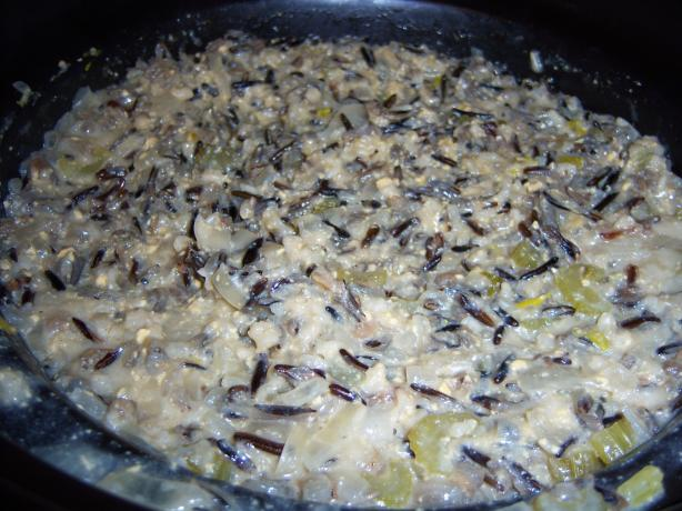 Crock Pot Wild Rice Casserole. Photo by NELady