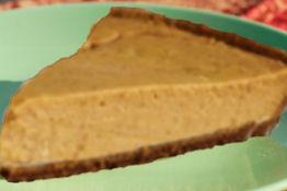 No Bake Pumpkin Cheesecake. Photo by Wheres_the_Beef?