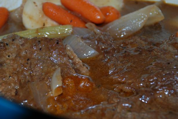 Super Deluxe Pot Roast. Photo by carmenskitchen