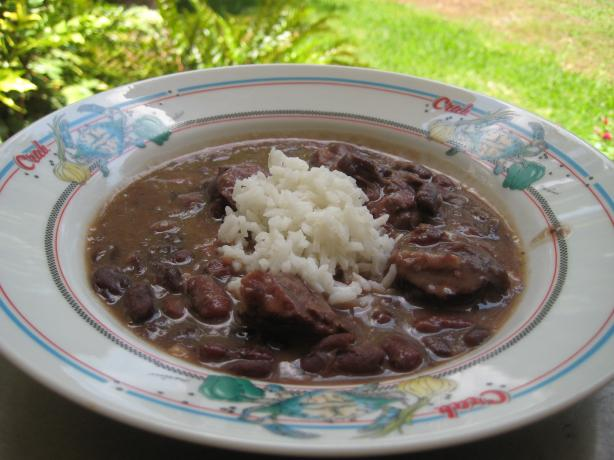 Red Beans and Rice. Photo by gailanng