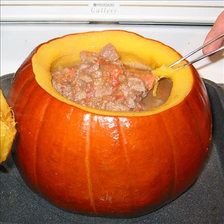 Beef Stew in a Pumpkin. Photo by Becky74