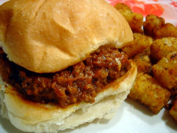 Grandmas Sloppy Joes. Photo by :(