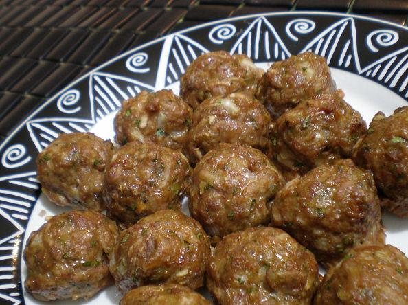 Twisted Beef Koftas (Middle-Eastern Meatballs). Photo by Sandi (From CA)