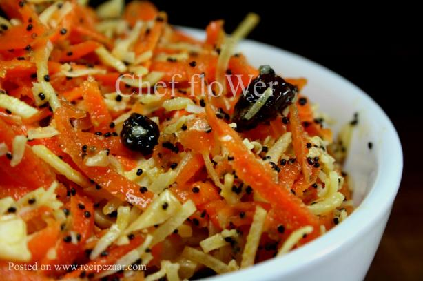 Carrot Salad. Photo by Chef floWer