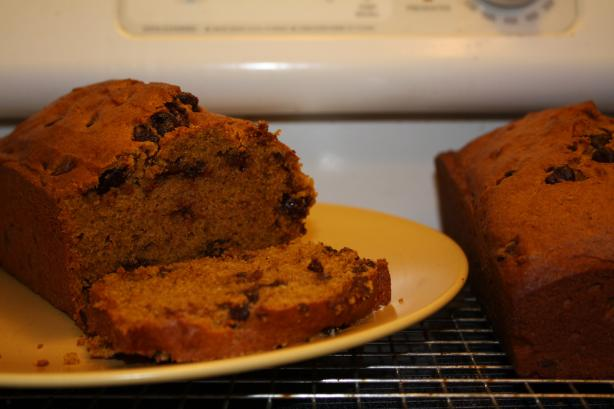 Pumpkin Chocolate Chip Bread. Photo by Jillster
