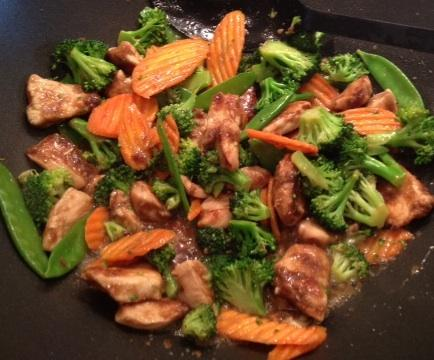 Chicken Stir-Fry. Photo by bjohnsons