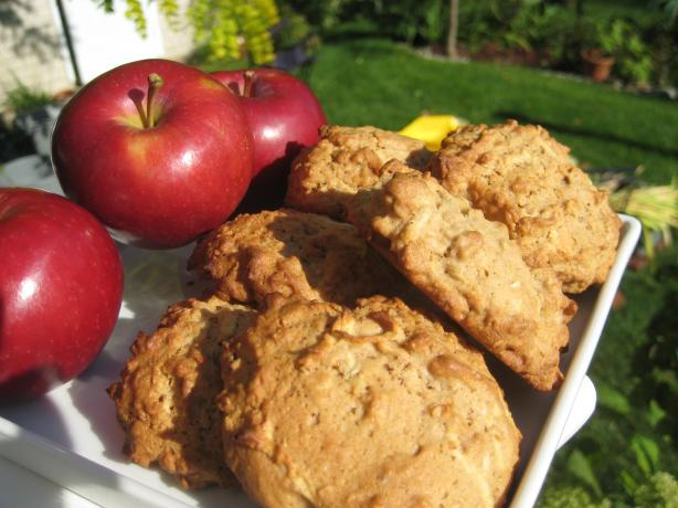 Apple Cookies. Photo by Chouny