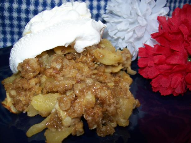 Caramel Apple Crisp. Photo by Chef shapeweaver ©
