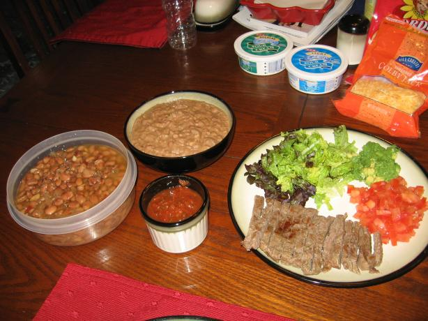 Fat-Free No-Refry Refried Beans. Photo by Dr.JenLeddy