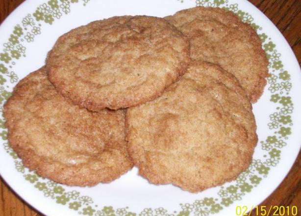 Mrs. Fields Cinnamon Sugar Cookies. Photo by internetnut