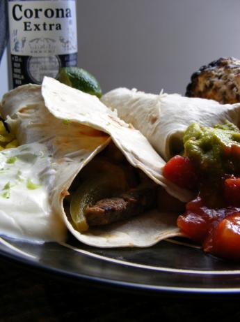 Steak Fajitas Corona. Photo by Sarah_Jayne