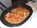 Cheryl&#39;s Spicy Tomato, Bean &amp; Veggie Soup - Crock Pot