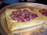 Grape, Ricotta & Honey Tarts