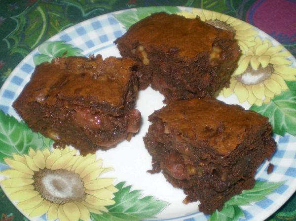 Cherry and Chocolate Brownies. Photo by Karen=^..^=