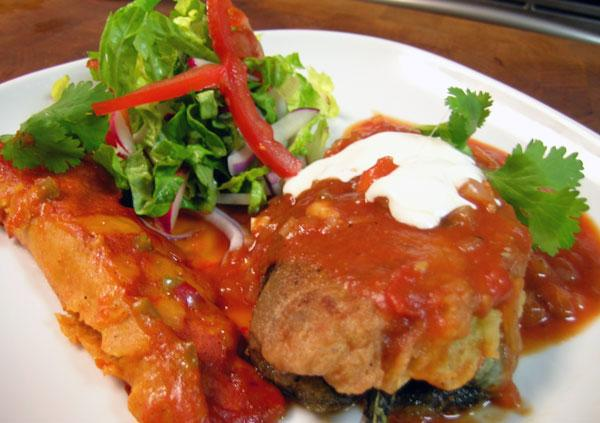 World's Greatest Chile Relleno (Made Easy). Photo by Rinshinomori