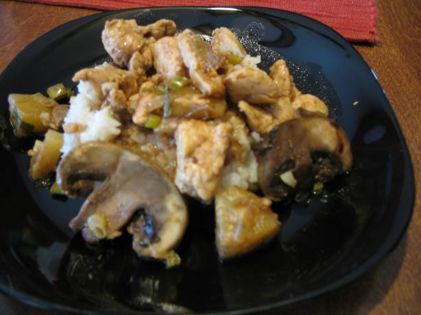 Ww Chinese Pineapple Chicken With Black Bean Sauce - Points=7. Photo by punkyluv