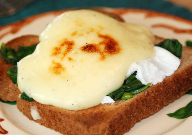 Poached Eggs Florentine. Photo by appleydapply