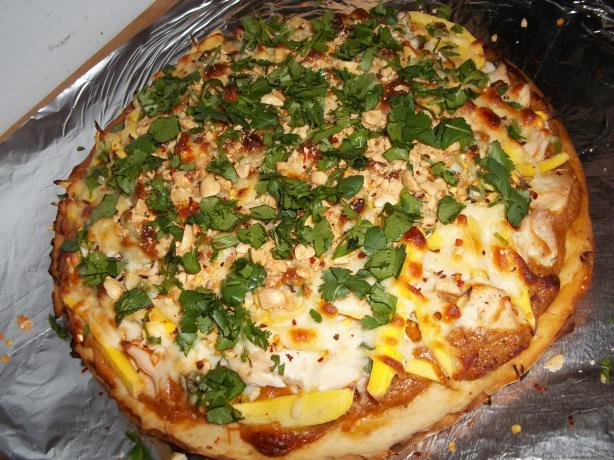 Thai-One-On Pizza. Photo by rpgaymer