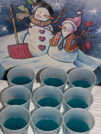 Baja Blue Jello Shots. Photo by barefootmommawv