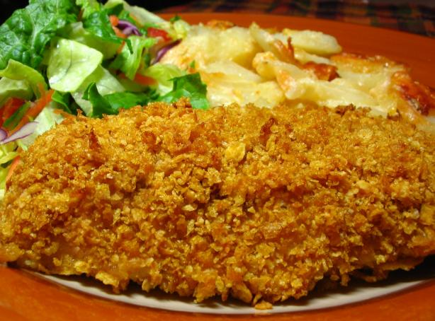 Cornflake Crusted Chicken. Photo by Breezytoo