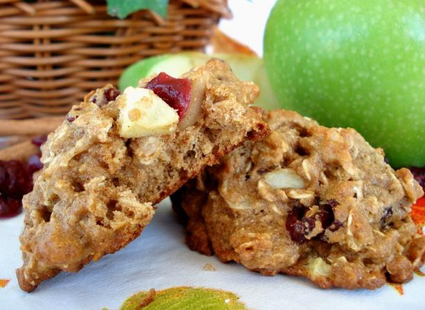 Low Fat Apple-Cranberry Breakfast Cookies. Photo by Marg (CaymanDesigns)