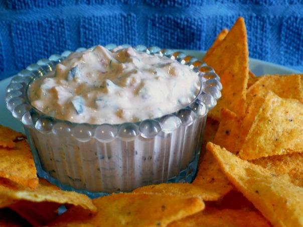 Creamy Garlic Salsa Dip. Photo by twissis