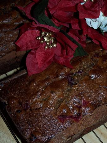 Pumpkin-Cranberry Quick Bread. Photo by barefootmommawv