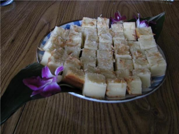 Bibingka (Sweet Rice Flour). Photo by aliono