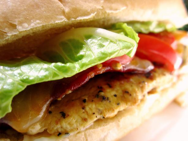 Lemon Pepper Bacon Chicken Sandwich - Pioneer Woman. Photo by gailanng