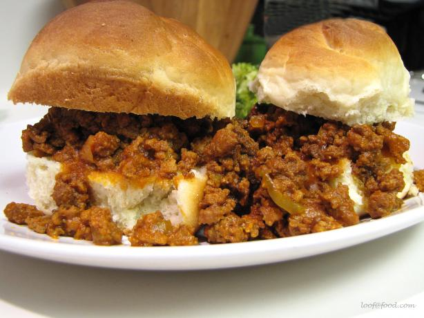 My Homemade Sloppy Joes. Photo by loof