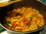 Fusilli With Tomatoes, Spinach, and Prosciutto