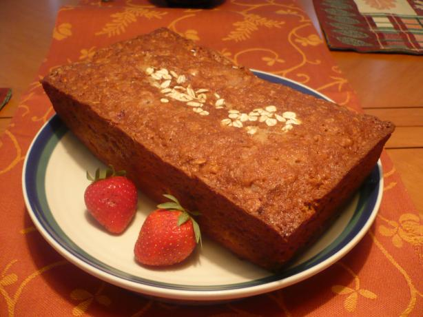 Gluten-Free Strawberry Banana Loaf. Photo by katii