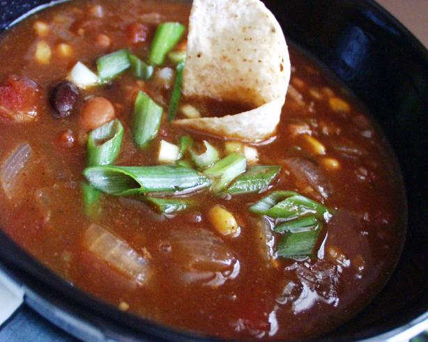 Crock Pot Beef, Bean &amp; Bacon Soup. Photo by FLKeysJen