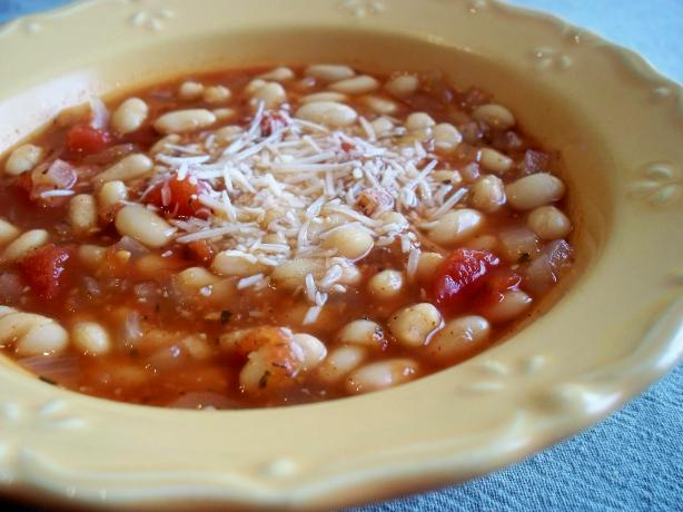Tomato and Bean Soup. Photo by *Parsley*