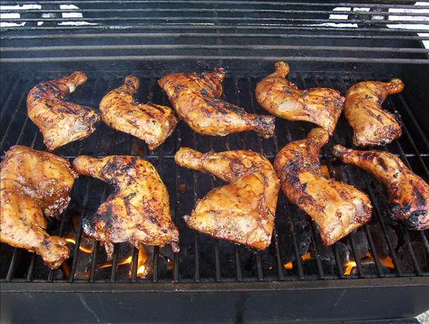 Simple Caribbean Jerk Chicken. Photo by * Pamela *