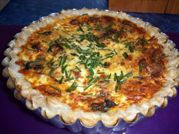 Sweet Potato and Salmon Quiche. Photo by **Mandy**