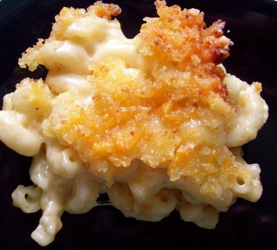 Baked Macaroni With Three Cheeses. Photo by diner524
