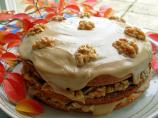 Canadian Maple Walnut Layer Cake With Fudge Frosting