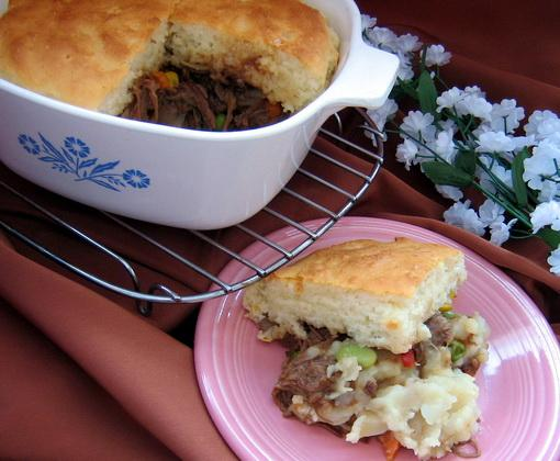 Shepherd Pie With Leftover Roast Beef and Potatoes by Paula Deen. Photo by Annacia