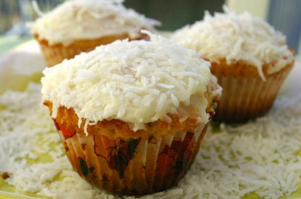 Lemon Coconut Cupcakes. Photo by Redsie