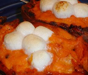 Twice Baked Sweet Potatoes - on the Light Side!. Photo by BakinBaby