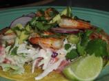 Chipotle Shrimp Tostadas