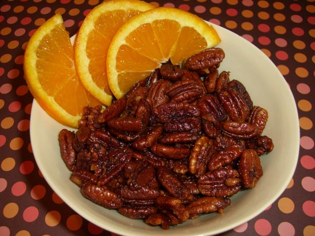Cocktail Orange Pecans. Photo by Chef*Lee