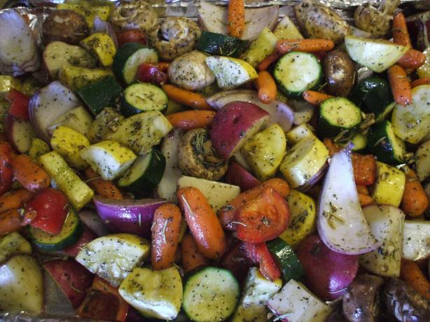 Oven-Roasted Vegetables. Photo by Greeny4444