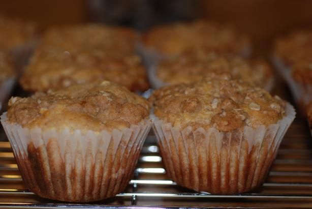 Apple Streusel Muffins. Photo by Katzen