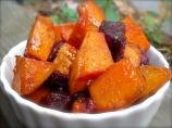 Roasted Sweet Potatoes With Honey-Lime Glaze