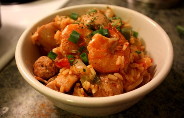 Creole Jambalaya. Photo by soursugar