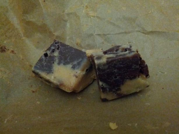 Peanut Butter and Chocolate Marble Fudge. Photo by youbetiam
